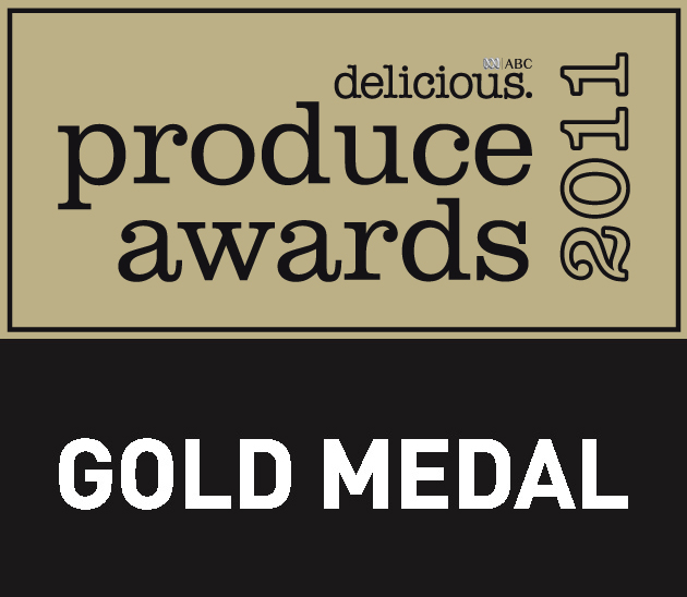 Delicious Produce Award - Gold